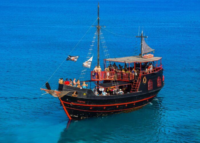 Прогулка на пиратской шхуне