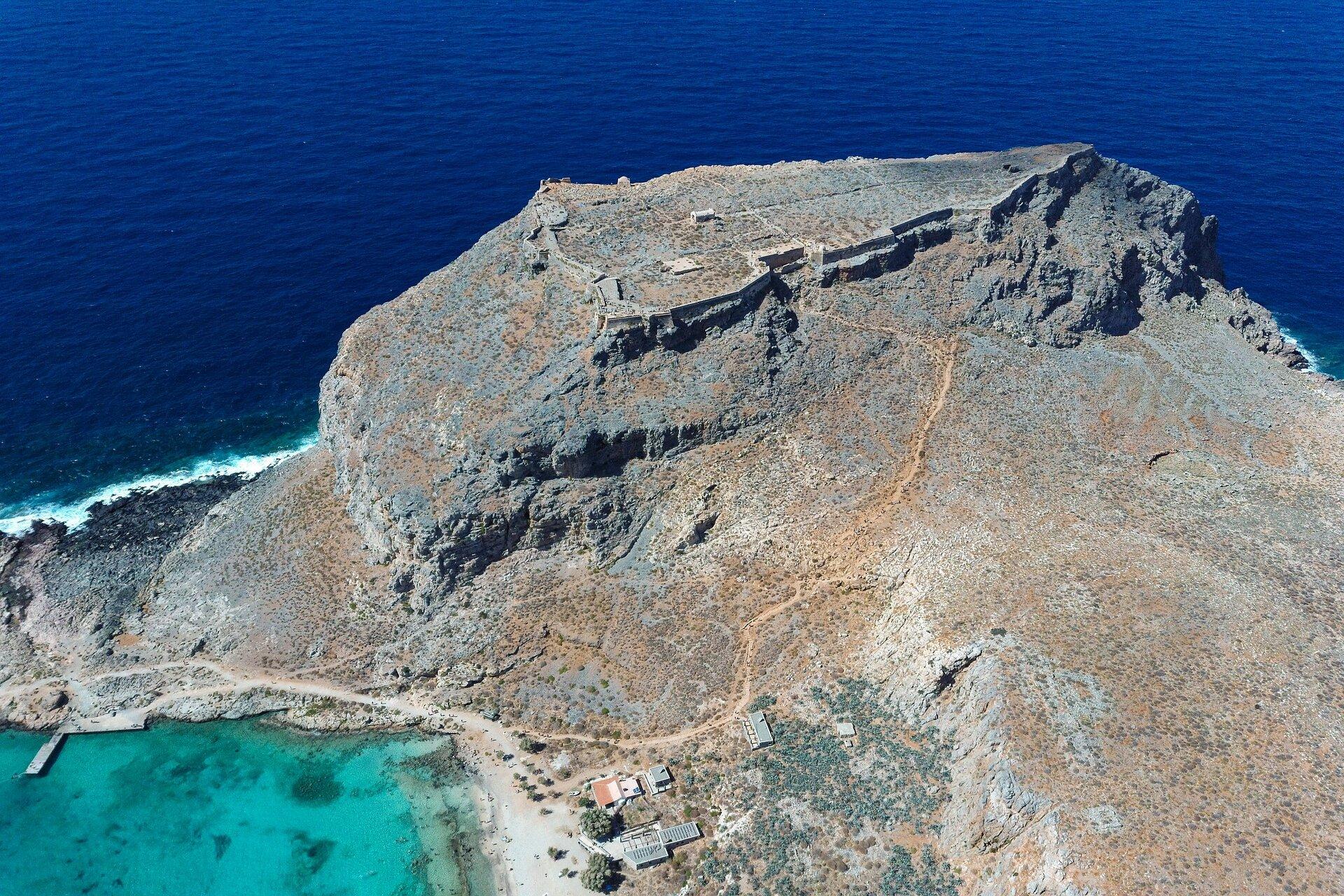 Лагуна Балос - остров Грамвуса