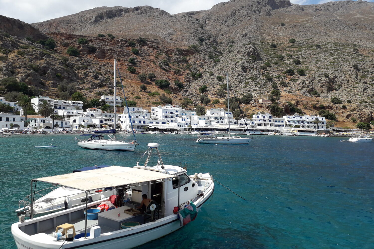 Loutro and Sweet Water Beach