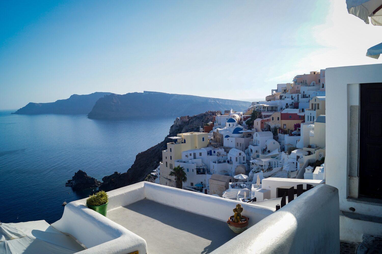 Крит — Санторини