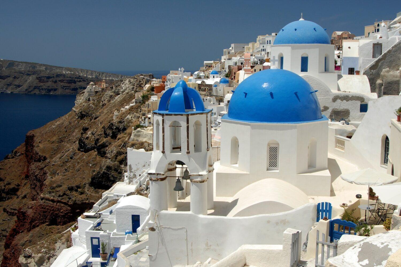 Афины - Санторини