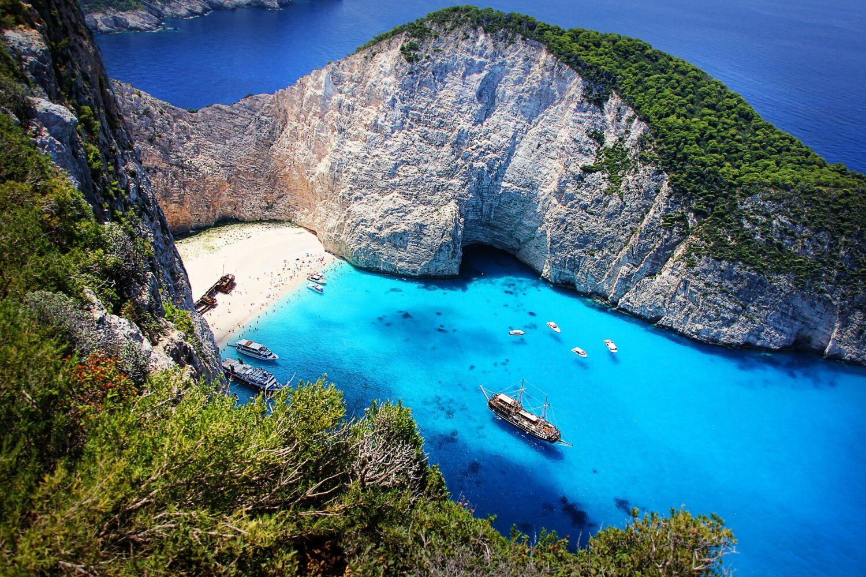Афины - остров Закинф