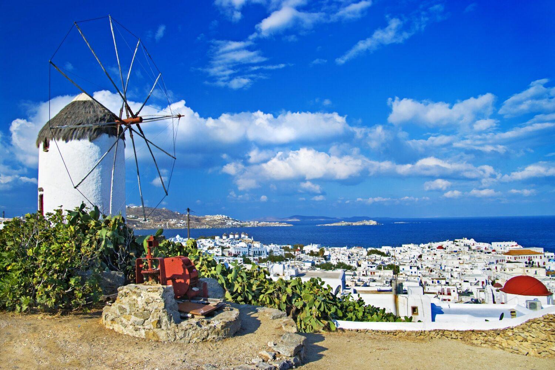 Остров Миконос