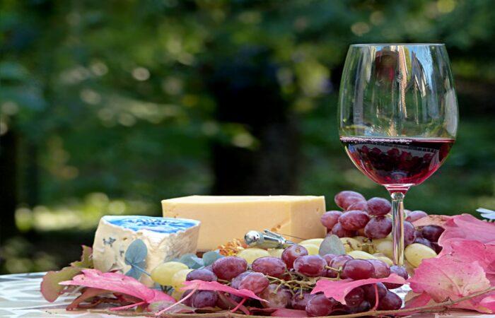 Дегустация сыра и вина