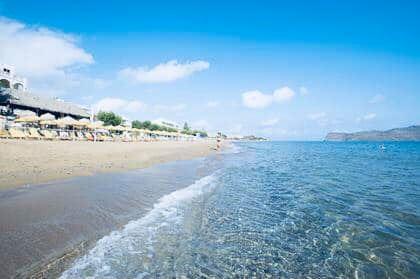 Отдых на Крите. Фото пляжа